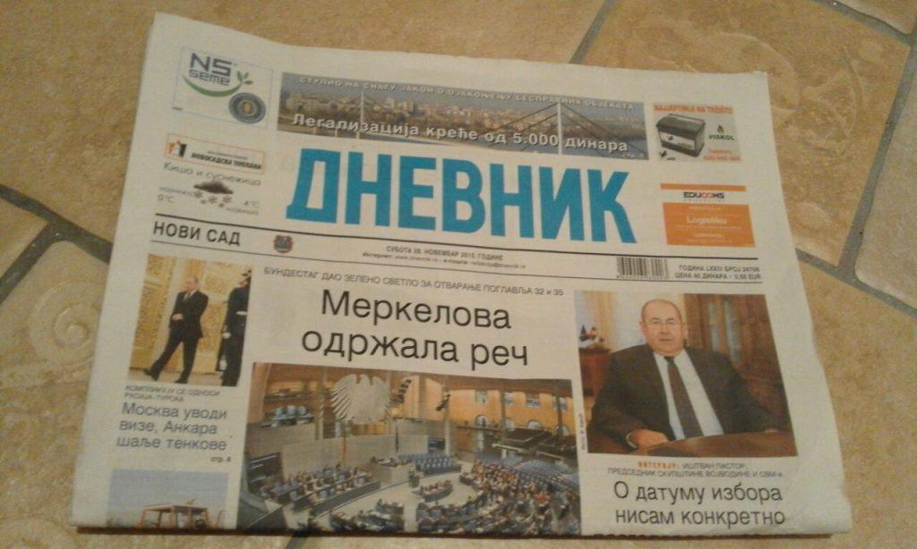 Članak u novinama DNEVNIK o firmi DEKS i ENERGETSKOJ EFIKASNOSTI